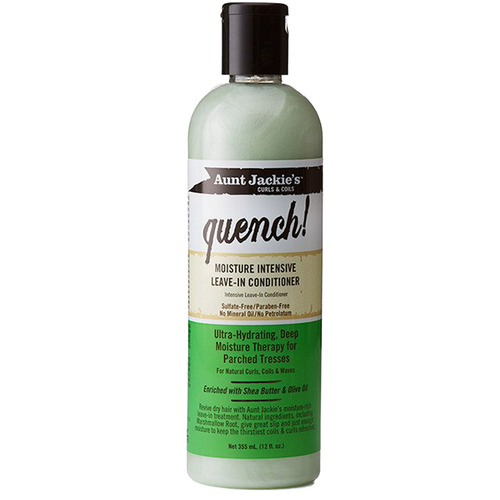 Balsam intens hidratant fara clatire Aunt Jackie's Quench Leave-in Conditioner 355ml