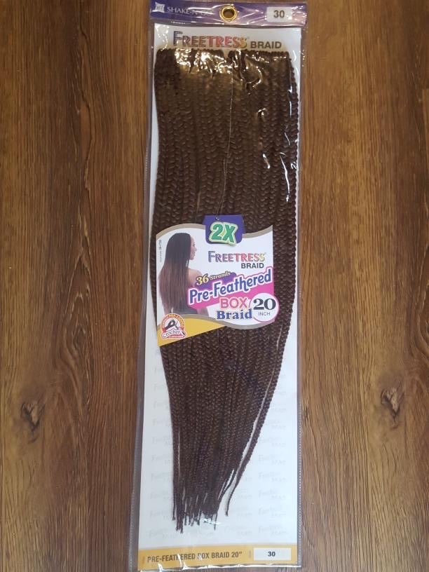 Freetress Crochet Braid 2x Pre-feathered 20 INCH