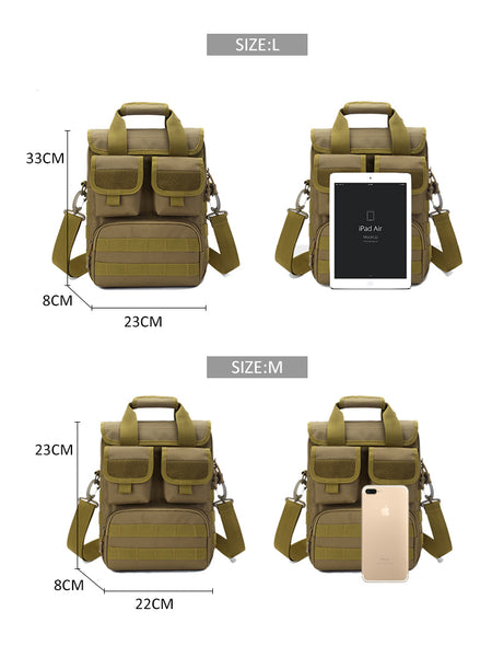 Multi-use military style bag