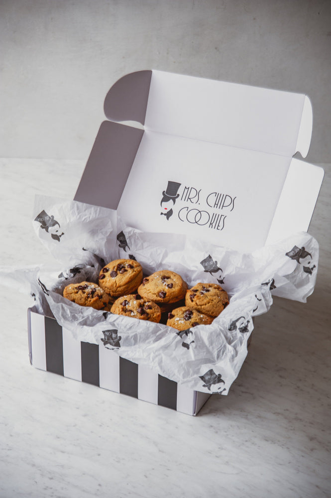 Chocolate Chip Joy Box Subscription | Two Dozen (24) Chocolate Chip Cookies