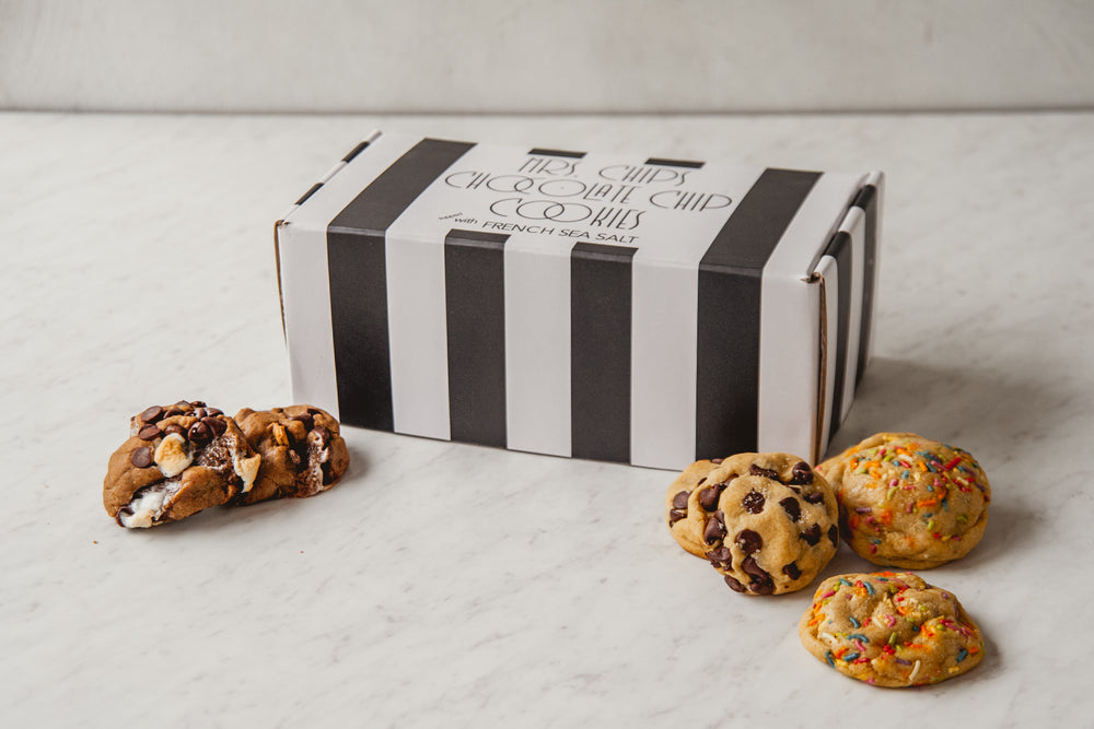 Mini Cookie Collage Box (1 Dozen Cookies)
