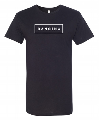 Black Banging Long Tee (European Style)
