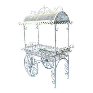 XXL ORNATE FLOWER CART