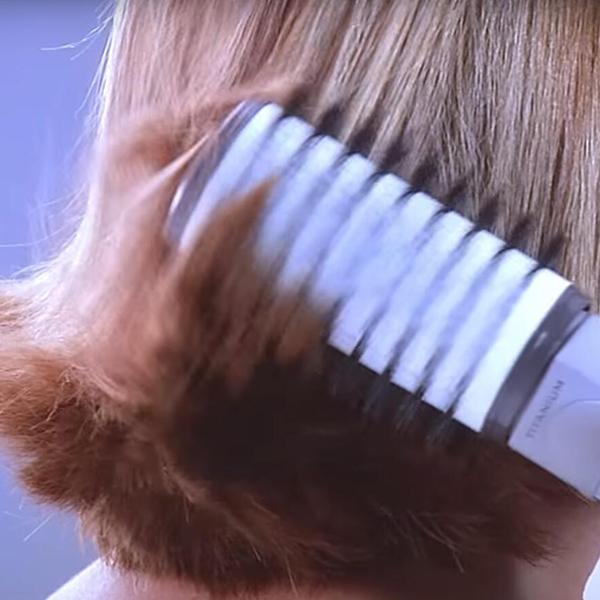 Rotating Curling Iron Brush