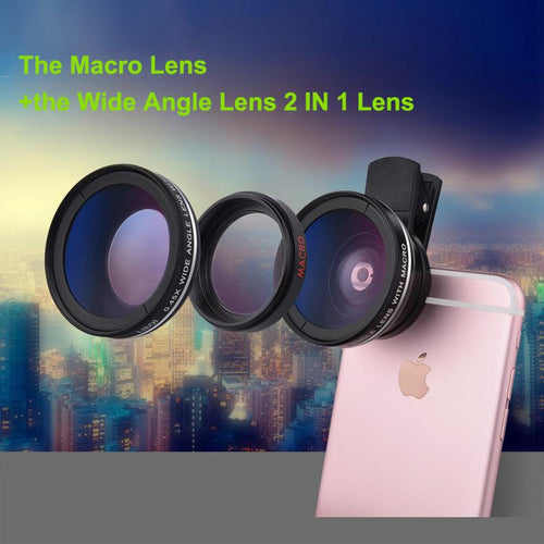 2 in 1 Universal Mobile Phone Lens