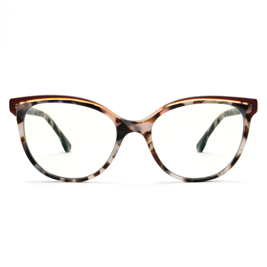 BETZY SOFT DEMI DOUBLE BROW BLUE LIGHT BLOCKING GLASSES,