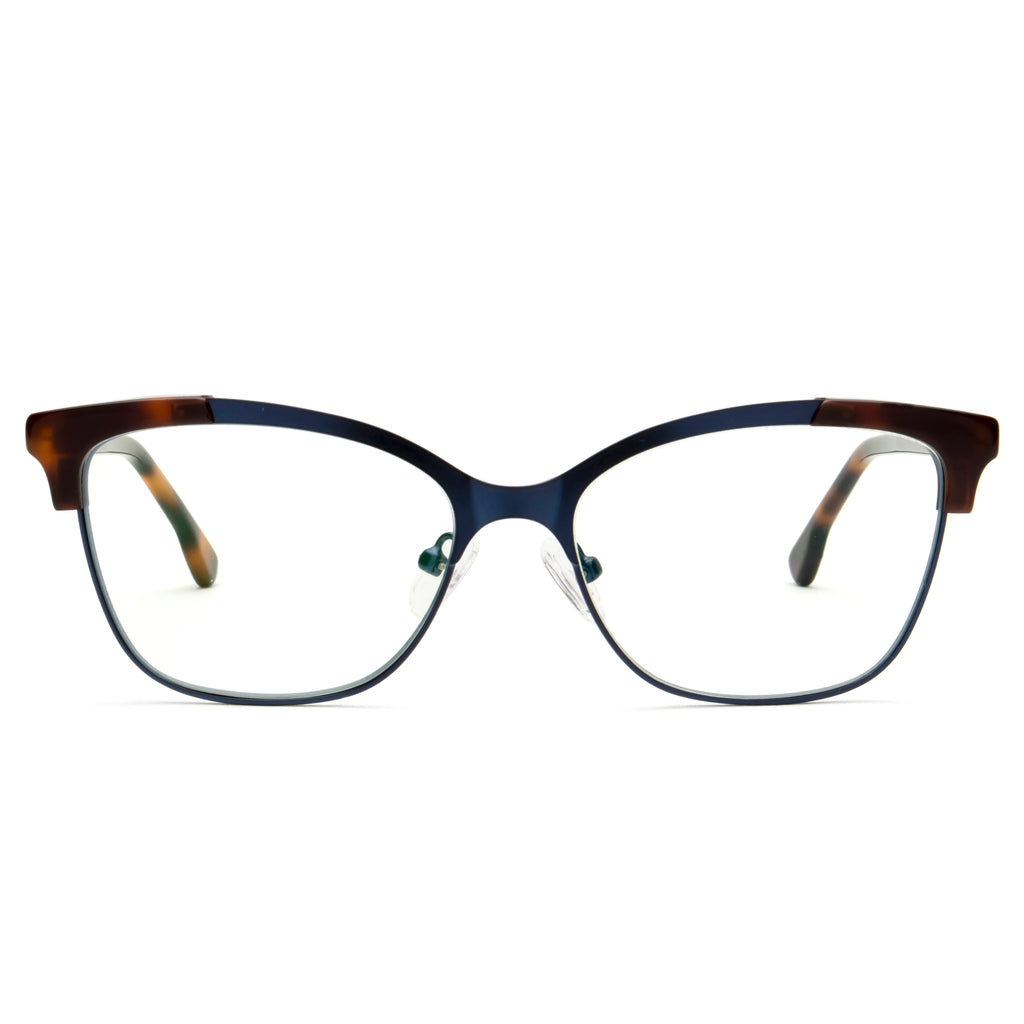 FRENCHY BROWN TORTOISE BLUE LIGHT BLOCKING  GLASSES,