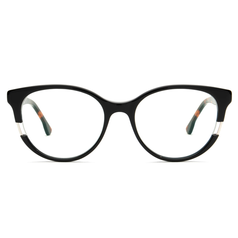 VIXEN CAT EYE BLACK BLUE LIGHT BLOCKING GLASSES