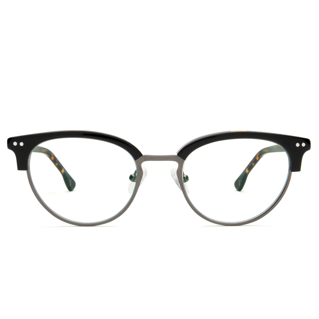 VIXEN CAT EYE BLACK BLUE LIGHT BLOCKING GLASSES,
