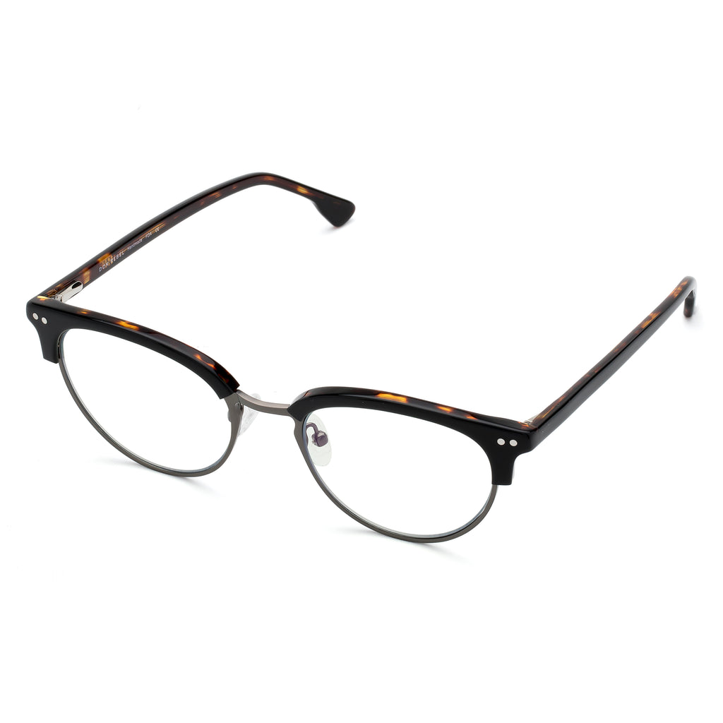 VIXEN CAT EYE BLACK BLUE LIGHT BLOCKING GLASSES - Don Rebel