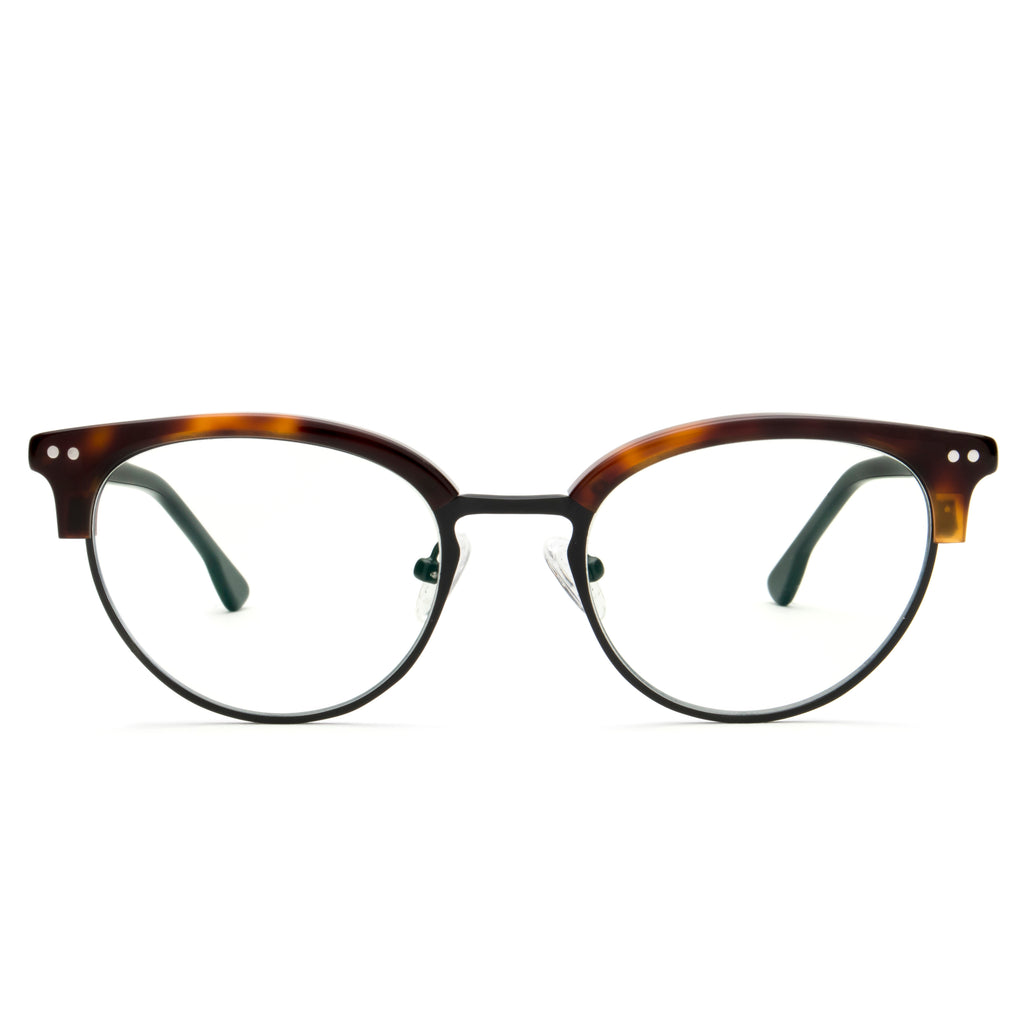 VIXEN CAT EYE TORTOISE BLUE LIGHT BLOCKING GLASSES,