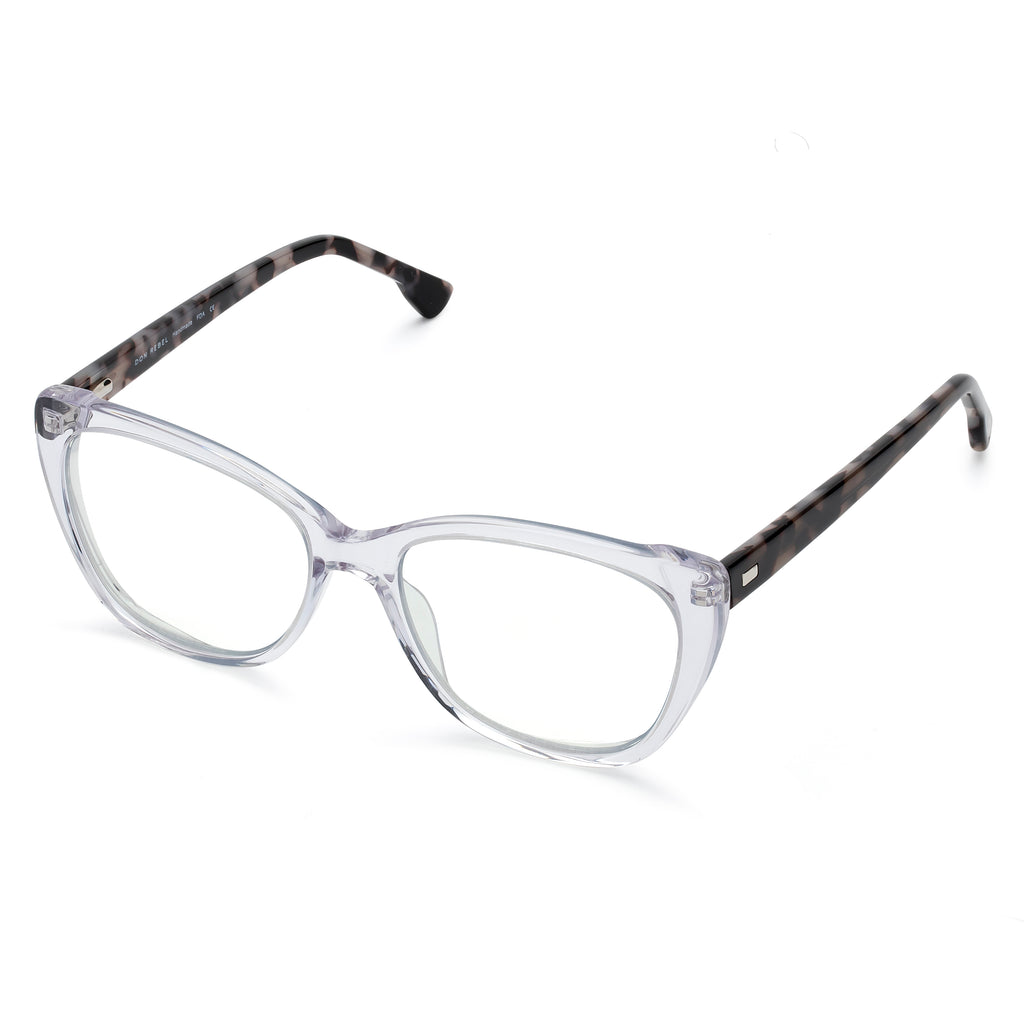 JADE CLEAR  BLUE LIGHT BLOCKING GLASSES,