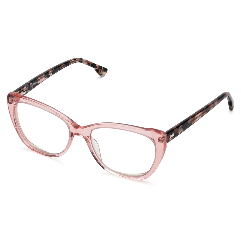 MOXIE BROWN//NAVY BLUE LIGHT BLOCKING GLASSES