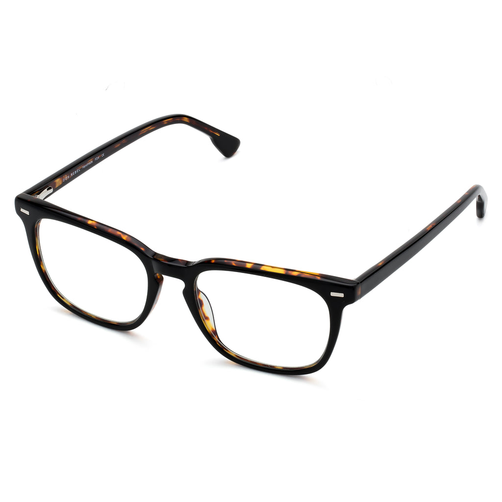 MAXWELL BLACK TORTOISESHELL  BLUE LIGHT BLOCKING GLASSES,