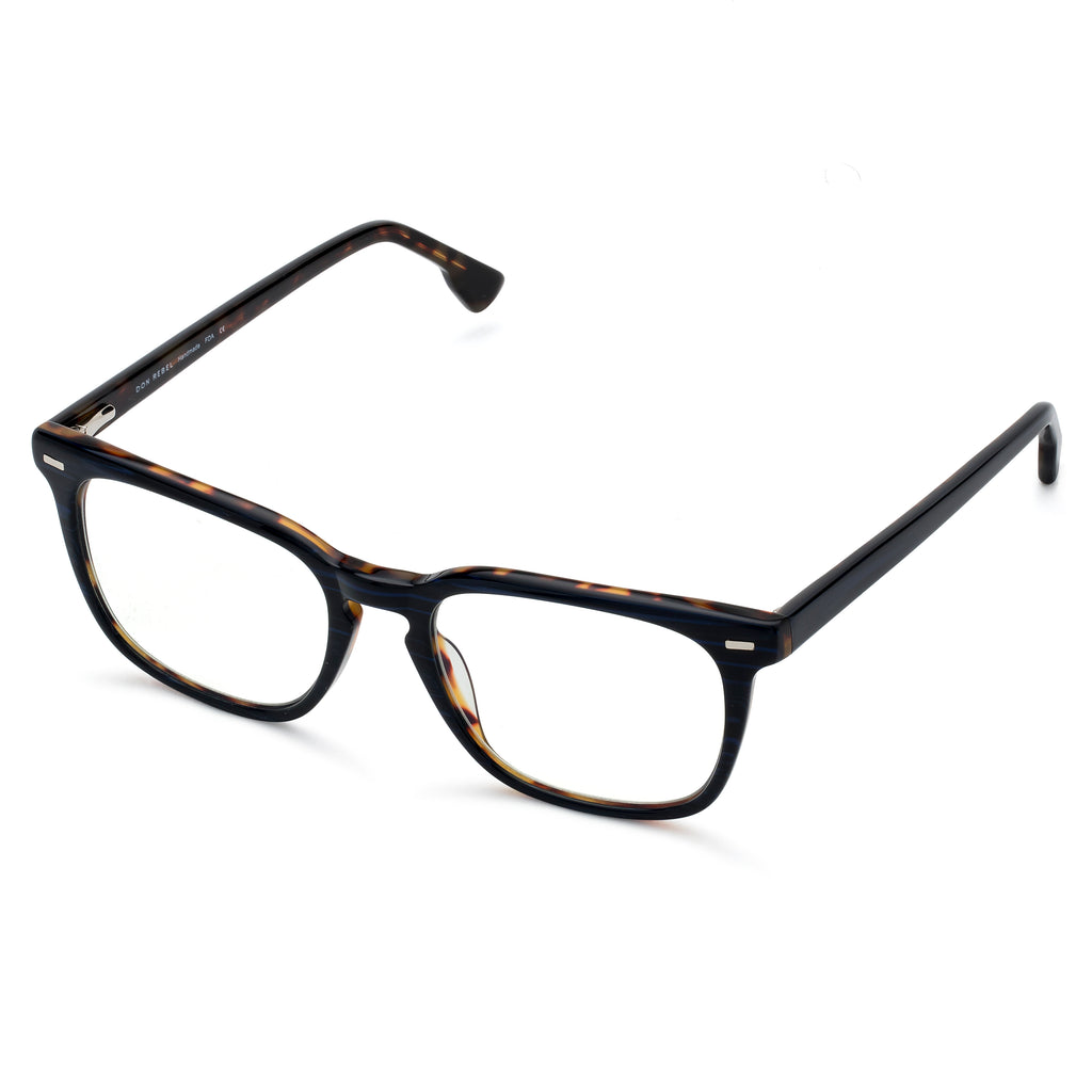 MAXWELL NAVY BLUE LIGHT BLOCKING GLASSES,