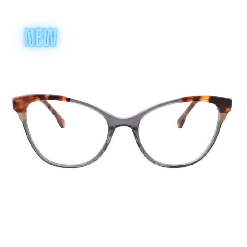 BETZY TORTOISE AND NAVY BLUE LIGHT BLOCKING GLASSES