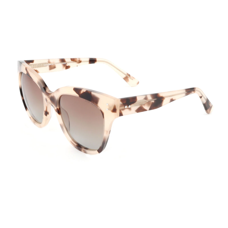 ZOE DEMI CREAM OVERSIZED SUNGLASSES - Don Rebel