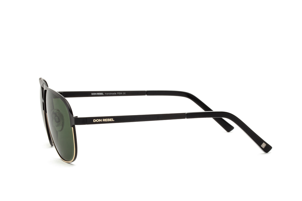 DANNY GREEN BRIDGE AVIATOR SUNGLASSES,