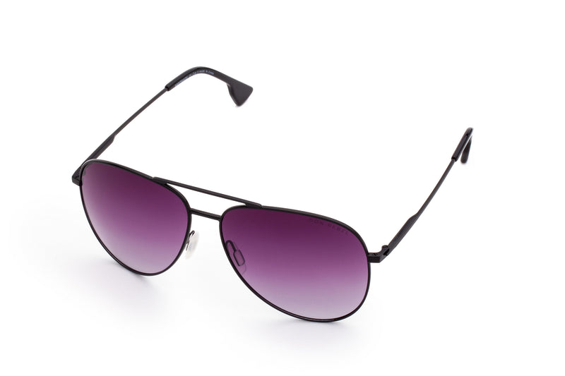 BILLY DARK GREY BRIDGE CLASSIC AVIATOR SUNGLASSES,
