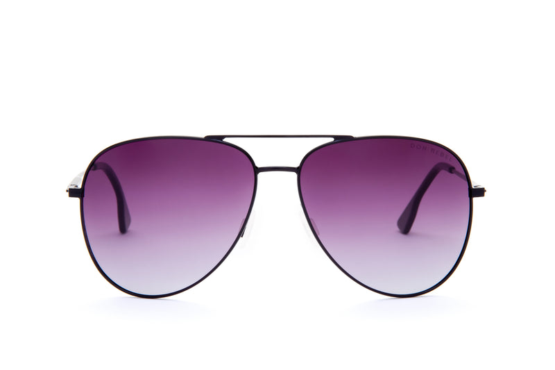REBEL BLUE ROUND BRIDGE MIRRORED SUNGLASSES