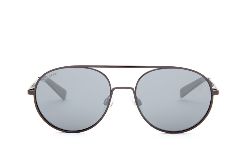 MEMPHIS BLACK GRADIENT BOLD CAT EYE SUNGLASSES POLARIZED