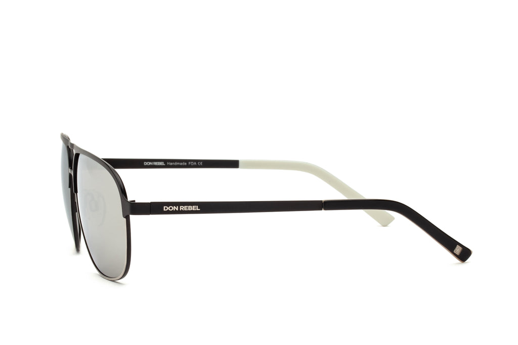 DANNY GREY BRIDGE AVIATOR SUNGLASSES - Don Rebel