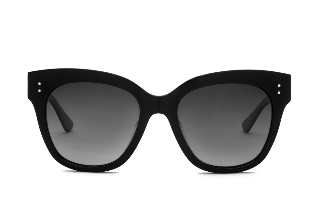ZOE BLACK POLARIZED SUNGLASSES - Don Rebel