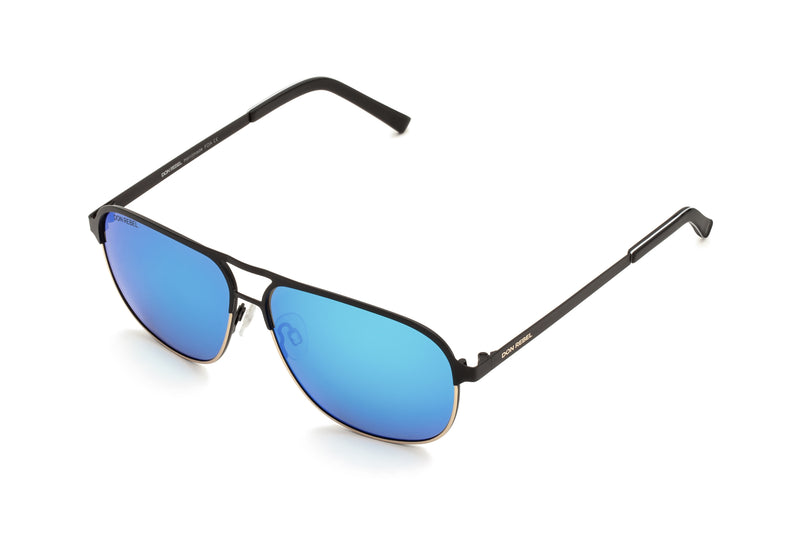 DANNY AQUA BRIDGE AVIATOR SUNGLASSES,