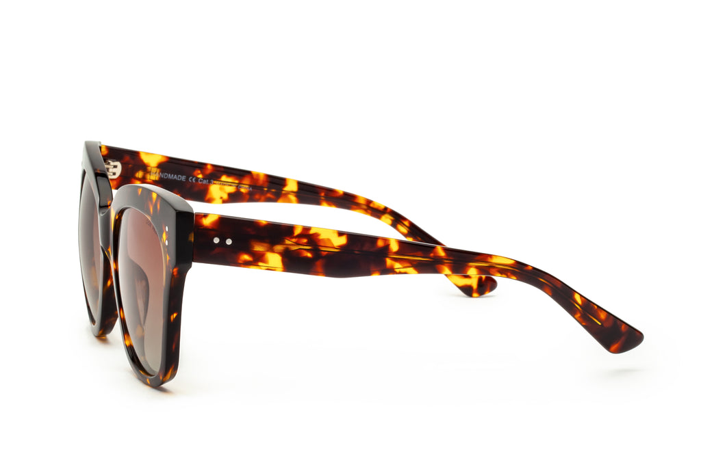 ZOE BROWN PRINTED ORIGINAL OVERSIZED SUNGLASSES,