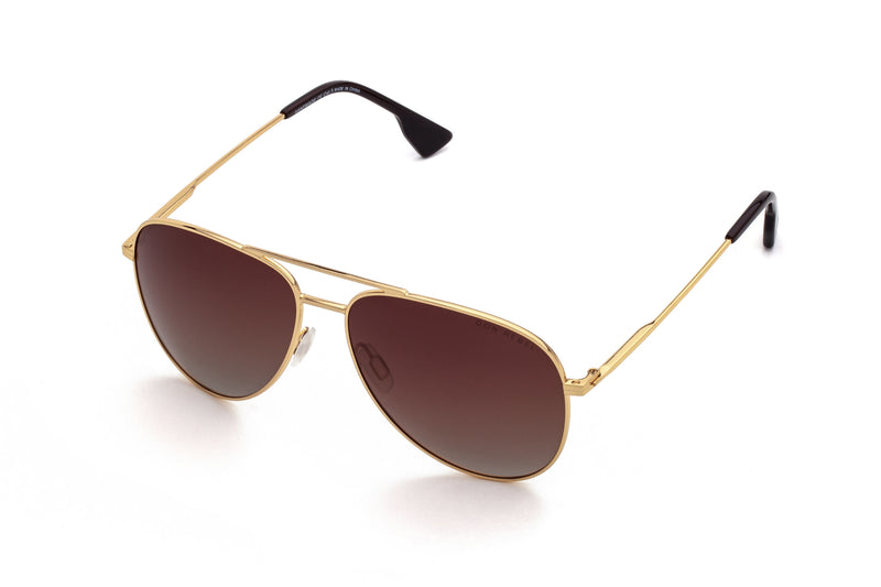 BILLY BROWN BRIDGE CLASSIC AVIATOR SUNGLASSES,