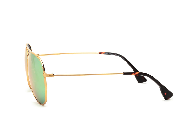 BILLY PINK BRIDGE CLASSIC AVIATOR SUNGLASSES,