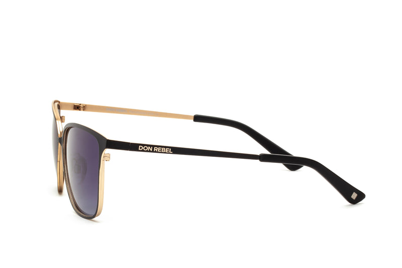 DON PURPLE CLASSIC CAT EYE SUNGLASSES,