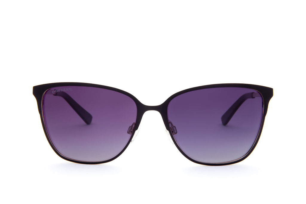 DON PURPLE CLASSIC CAT EYE SUNGLASSES - Don Rebel
