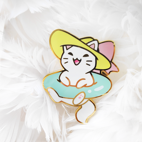 "Catniss ""Summer"" Pin - LIMITED EDITION"
