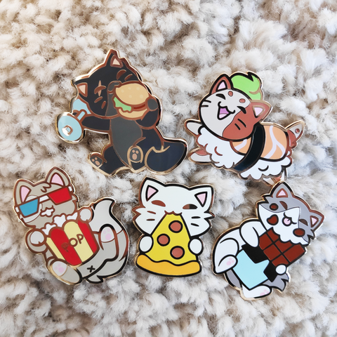 "Chief ""Choco"" Pin - Castle Cats"