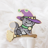 Morrigan Pin - Castle Cats
