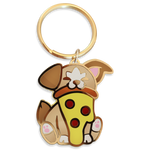 "Pupperoni ""Pizza"" Keychain"