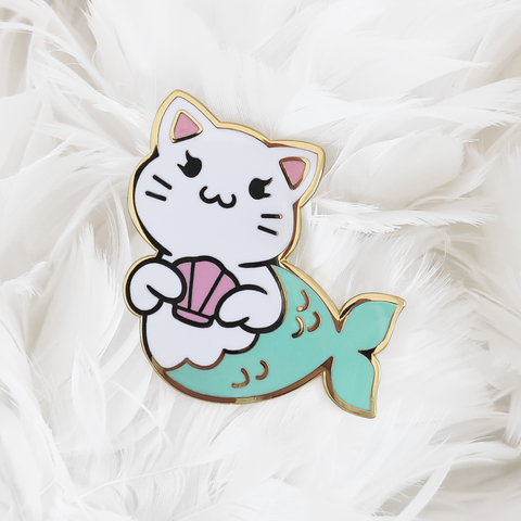Purrmaids: Catniss Pin