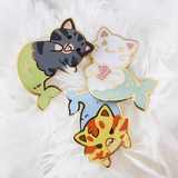 Purrmaid: Catniss Pin - Castle Cats