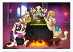 Alchemists Print - Castle Cats