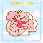 "Amortina ""Love"" Pin - Castle Cats"