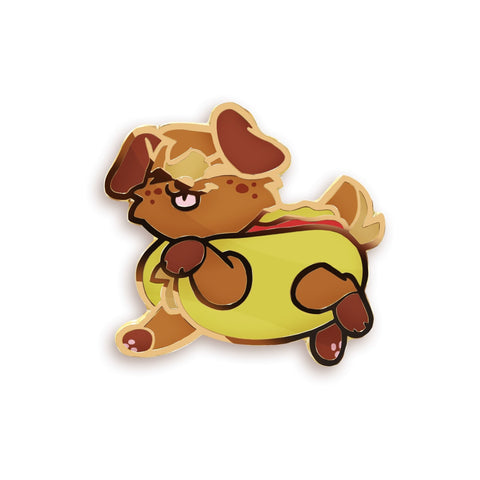 "BunBun ""Hotdog"" Pin - Castle Cats Store"