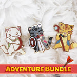 Bundle: Adventure Set of 3! - Castle Cats