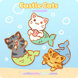 Bundle: Purrmaids Set of 3! - Castle Cats