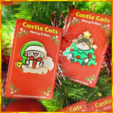 Cat in a Tree! Pin - Castle Cats