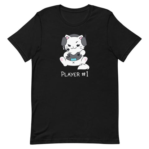 Catniss Player #1 - Unisex T-Shirt - Castle Cats Store