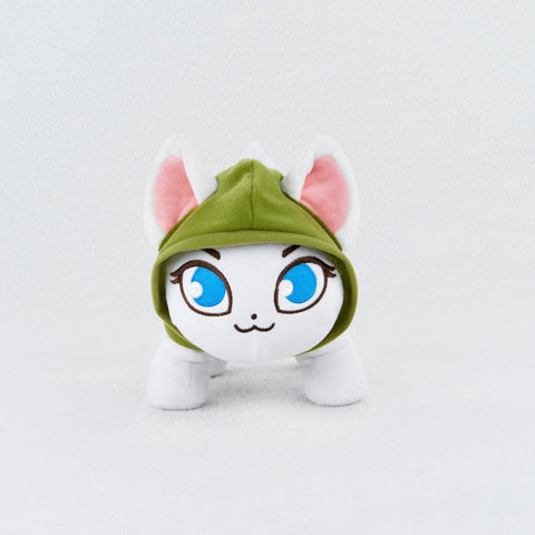 Catniss Plush Toy (+300 Gems in Castle Cats) - Castle Cats