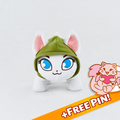 Catniss Plush Toy (Valentine Special) - Castle Cats