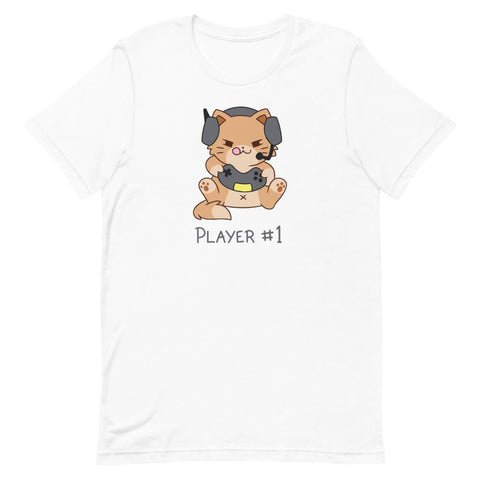 Edward Player #1 - Unisex T-Shirt - Castle Cats Store