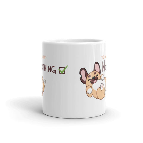 "Gaspard ""Nothing"" Mug - Castle Cats Store"